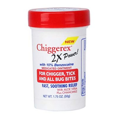Chiggerex 2X Power Medicated Ointment For Relief from Chigger Bites