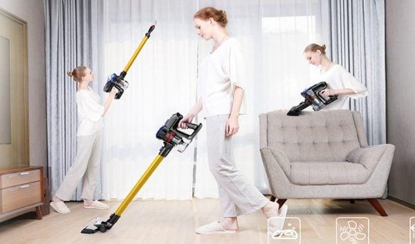 Dibea D18 Lightweight Cordless Stick Vacuum Cleaner